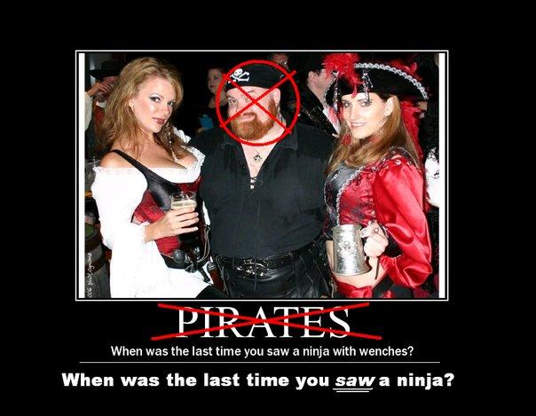 ninjas vs pirates